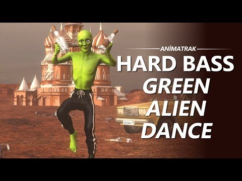 Green Alien Dance - Dame Tu Cosita -  Hard Bass Version