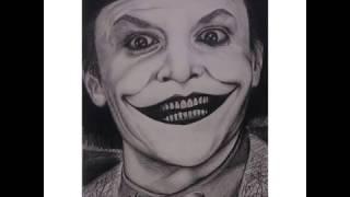 Step by Step Drawing The Joker aka Jack Nicholson