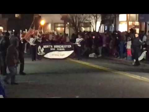 North Dorchester High School Band - Cambridge Christmas Parade 2016