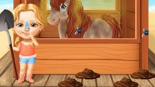 Sweet Baby Girl Summer Fun 2 - Play Fun Holiday Resort  - Fun Dress Up Horse Care Games For Girls