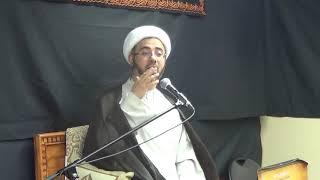 الشيخ مصطفى الموسى - كيف  يكون أهل البيت عليهم أفضل الصلاة والسلام حجة على أهل السماء