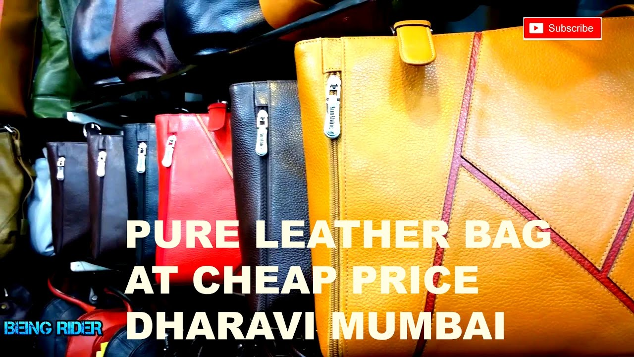 dharavi leather Dharavi leather market for a lot of people in dharavi life is a daily struggle, but its leather market is thriving and how imagine laying your hands on a pure leather bag/jacket, something that looks no less than a hidesign or a dorothy perkins.