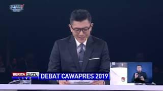Debat Ma'ruf Amin dan Sandiaga Uno Soal Ketenagakerjaan