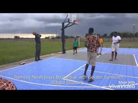 Ramsey Noah plays Basketball