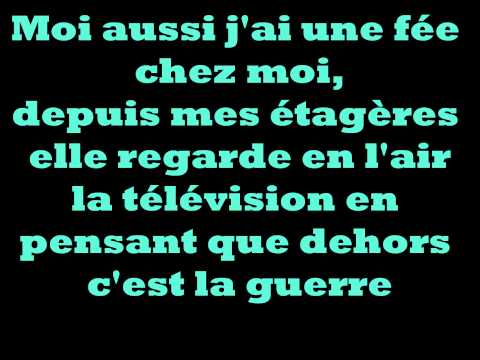 la fee- paroles- lyrics