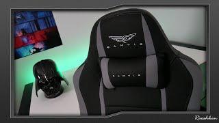 Gamvis Hyper - materiałowy fotel gamingowy do 400zł