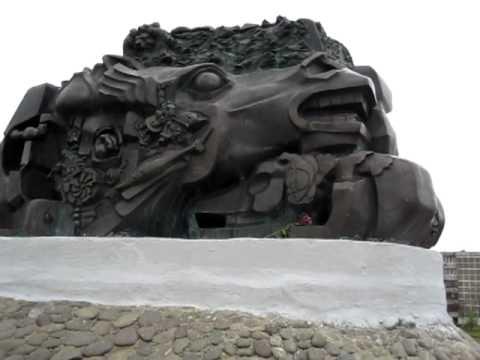 Ernst Neizvestny Sculpture in Elista, Kalmykia