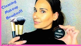 HOW TO CLEAN MAKEUP BRUSHES   BEAUTY   I HAVE NEVER WASHED THEM BEFORE