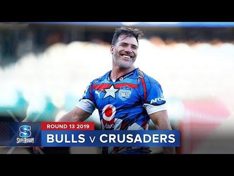 Bulls v Crusaders   Super Rugby 2019 Rd 13 Highlights