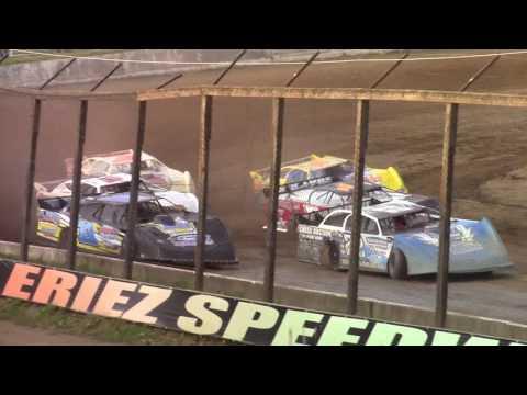 Eriez Speedway Super Late Model Heat Races 7-30-17