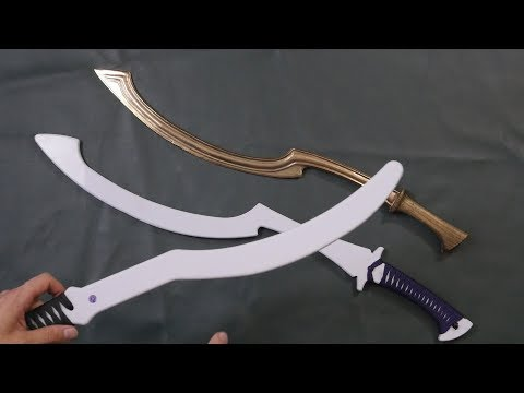 Review: Practice Khopesh and Sickle Sword from Purpleheart Armoury