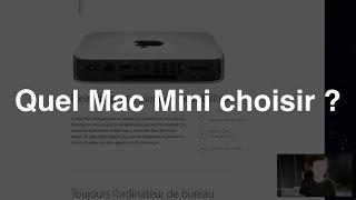 Quel Mac Mini choisir ?