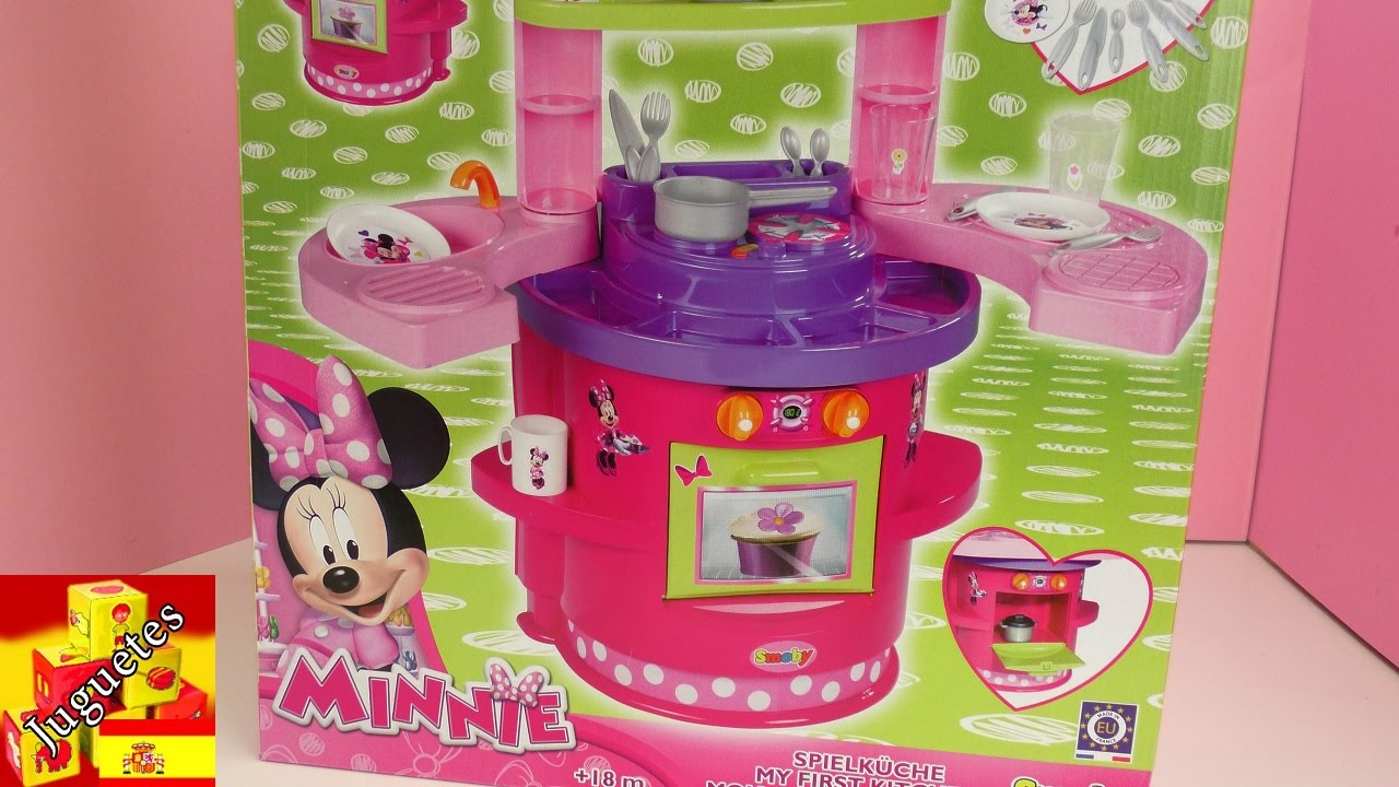 Unboxing Mini Cocina De Minnie Mouse Smoby Youtube