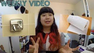 Weekly Video: Keringin Tangan - Hand dryer vs TIssue!