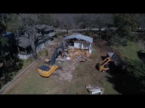Johnson Excavation Demolition- Drone video