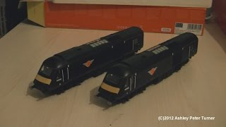 Hornby R2705 Class 43 HST Grand Central Train Pack Review (OO Gauge) HD