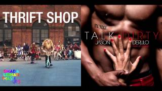 Download Macklemore & Ryan Lewis ft. Wanz vs. Jason Derulo ft. 2 Chainz - Dirty Shop MP3 song and Music Video