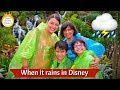 When it rains on your Disney vacation!
