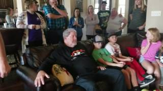 Dad gets huge surprise for 60th birthday