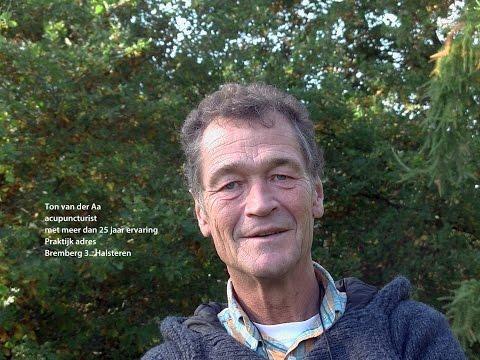 Ton van der Aa vertelt over zijn werk als acupuncturist