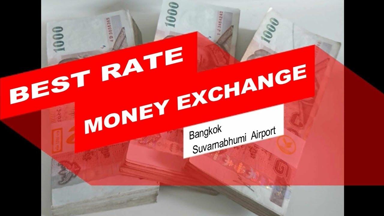 Money Exchange In Bangkok Suvarnabhumi