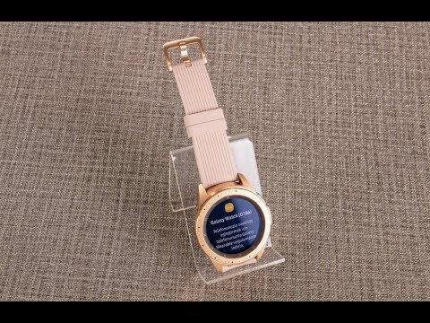 Samsung Galaxy Watch 42mm Altin Akilli Saat Urun Inceleme Youtube