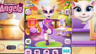 My Talking Angela Children- Captain Cute Android Gameplay HD
