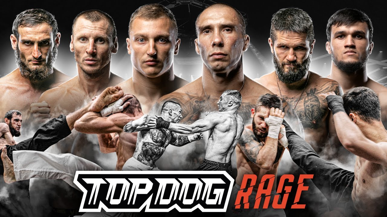 Top Dog Rage: Кратос vs. Мясник, Чёрный лев vs. Рыбалко, Басмач vs. Часик | Бои на голых кулаках