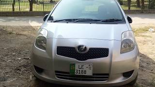 Toyota Vitz For Sale And Review| Model 2006| Registered 2012| Import 2011 | Hamza Abrar Qureshi