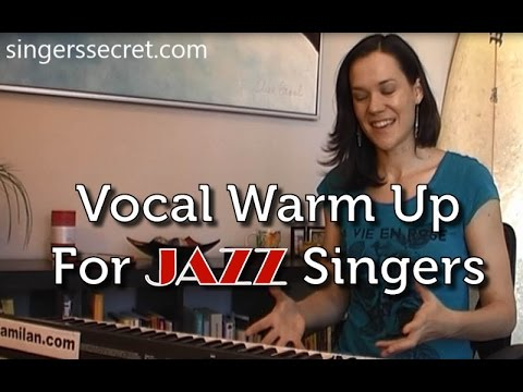 Warm Up Exercise For Jazz Singers