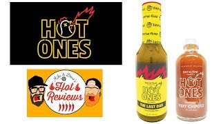 Hot Ones The Last Dab and Fiery Chipotle Reviews!!
