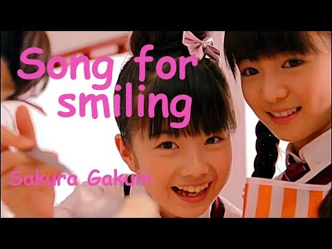 """【UME★Mash】 """"Song for smiling"""" by Sakura Gakuin 2012, 2017 and  2018"""