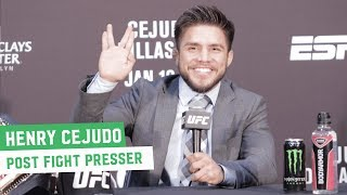Henry Cejudo: 'He may not accept it, but I beat the greatest bantamweight of all time'