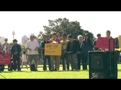 Sydney University Welcome His Holiness the Dalai Lama of Tibet