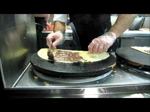 Crepes Bonaparte - Preparing A Sweet Crepe!