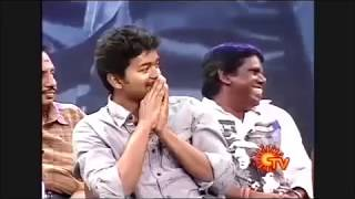 Vadivelu's Suprb Words about Thalapthy Vijay!!!