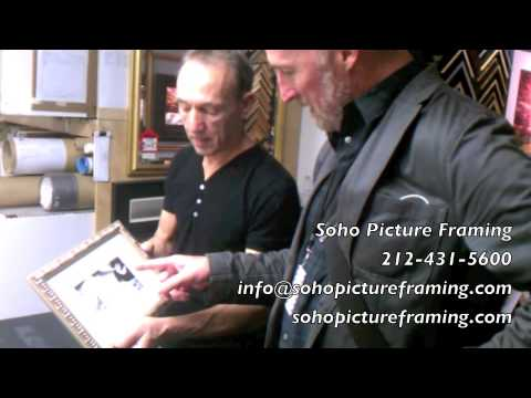 "Soho Picture Framing Testimonial #3 (""That's great!"")"