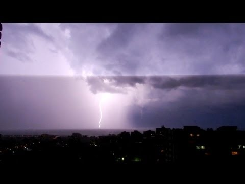 10 Hours Of Thunderstorm And Rain Sounds In A Lightning