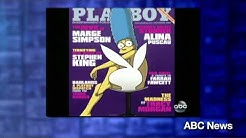 Marge Simpson: Playboy Cover Girl