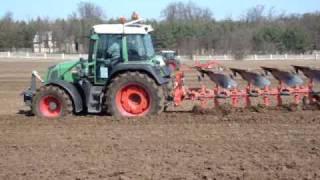 Pokazy polowe orki - ciągniki, traktory FENDT, maszyny rolnicze - KORBANEK 2009