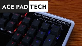 XMIT Hall effect gaming keyboard review (Ace Pad Tech Hall effect)