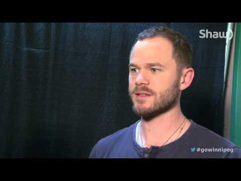 Comic Con 2013 - Aaron Ashmore