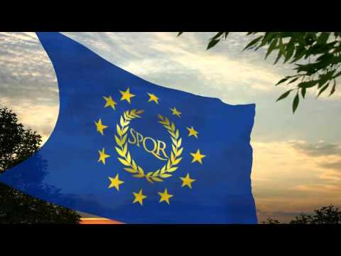 Flag and anthem of the European Federal Republic (by Mars-FM)