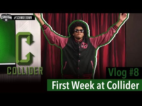 First Week at Collider!  Vlog #8
