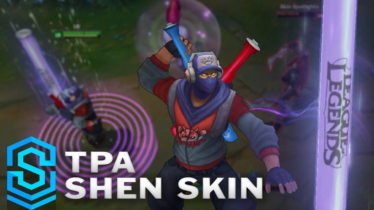 Tpa Shen 2016 Update Skin Spotlight Pre Release League Of