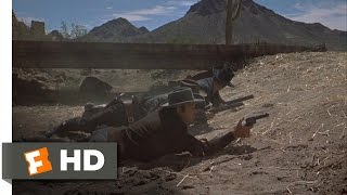 Gunfight at the O.K. Corral (8/9) Movie CLIP - The Gunfight Begins (1957) HD