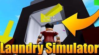 SIMULÁTOR TOČENÍ SE V PRAČCE!😂😂   ROBLOX: Laundry Simulator