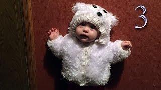 Кофта Медвежонок с капюшоном вязание спицами подарок своими руками-3
