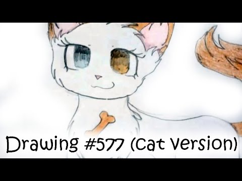 LPS - Drawing #577 (cat Version)