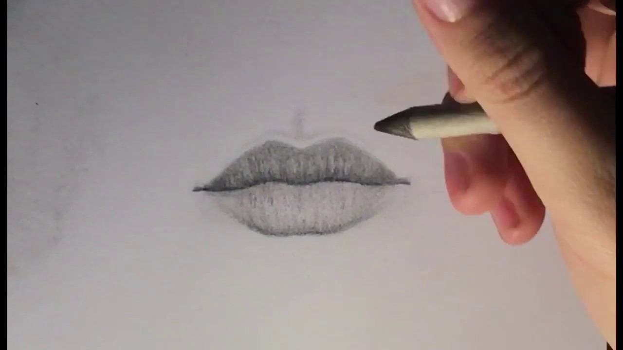 How To Draw Lips For Beginners / Easy Step By Step